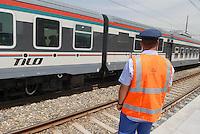 - the new Milan - Romolo city station of the Regional railroads of the Lombardy ....- la nuova stazione urbana delle ferrovie Regionali della Lombardia di Milano - Romolo