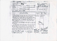 BNPS.co.uk (01202 558833)<br /> Pic: Warwick&Warwick/BNPS<br /> <br /> Lieutenant Harold Allan's documents are part of the medal sale.<br /> <br /> The family of a hero tank commander who destroyed 10 German tanks in 48 hours of fighting Erwin Rommel's feared Afrika Corps are selling his gallantry medals.<br /> <br /> Lieutenant Harold Allan was awarded an immediate Distinguished Conduct Medal following his heroics in the North Africa campaign in the Second World War.<br /> <br /> During Operation Crusader - the Allied offensive to relieve the Siege of Tobruk - Lt Allan's Crusader tank weaved in an out of Rommel's Panzers in the desert.<br /> <br /> Thanks to his skill and tactical nous, his tank engaged the enemy at close range and was able to take out six tanks on the first day and several more two days later.