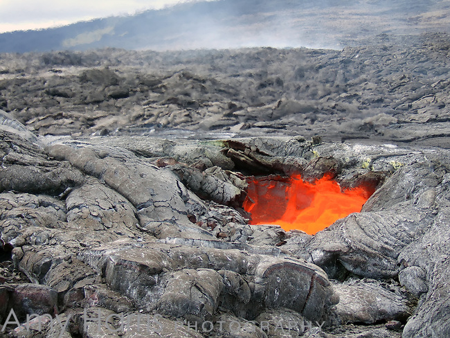 Lava skylight in Hawaii Volcanoes National Park