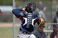 Cleveland Indians minor leaguer Alex Castillo during Spring Training at the Chain of Lakes Complex on March 17, 2007 in Winter Haven, Florida.  (Mike Janes/Four Seam Images)