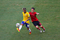 Fortaleza, Brazil - Tuesday, June 17, 2014: Mexico and Brazil are 0-0 ending the first half of World Cup group play at Estádio Castelão, <br /> <br /> 17/06/2014/MEXSPORT/OSVALDO AGUILAR<br /> <br /> Estadio: Castelao, Fortaleza