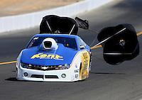 Jul. 27, 2013; Sonoma, CA, USA: NHRA pro stock driver Rodger Brogdon during qualifying for the Sonoma Nationals at Sonoma Raceway. Mandatory Credit: Mark J. Rebilas-
