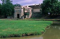 Europe/France/Aquitaine/33/Gironde/Cussac: Château Médoc construit par Vauban