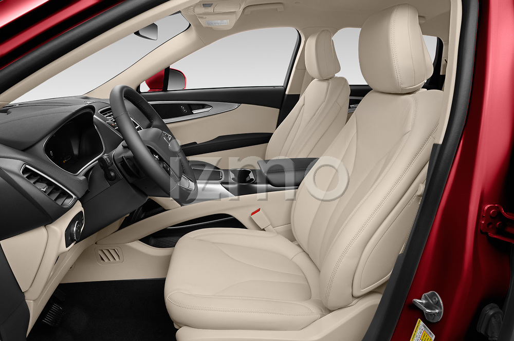 Front seat view of 2020 Lincoln Nautilus Base 5 Door SUV Front Seat  car photos