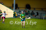 Kerry's Sarah Murphy in action against Galway in the National Camogie league in Lixnaw on Saturday.