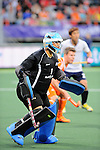 The Hague, Netherlands, June 03: Myungho Lee #1 of Korea looks on during the field hockey group match (Men - Group B) between The Netherlands and Korea on June 3, 2014 during the World Cup 2014 at Kyocera Stadium in The Hague, Netherlands. Final score 2:1 (1:1) (Photo by Dirk Markgraf / www.265-images.com) *** Local caption ***