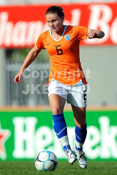 emmen voetbal nederland - china vrouwen seizoen 2007-2008  07-05-2008 sherida spitse.Fotograaf Jan Kanning