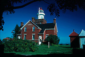 Big Bay Point Lighthouse, Big Bay Michigan, Upper Peninsula of Michigan, Lake Superior.