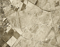 historical aerial photograph of Concord, California 1946