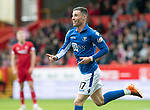 Aberdeen v St Johnstone…14.09.19   Pittodrie   SPFL<br />Michael O'Halloran celebrates his goal<br />Picture by Graeme Hart.<br />Copyright Perthshire Picture Agency<br />Tel: 01738 623350  Mobile: 07990 594431