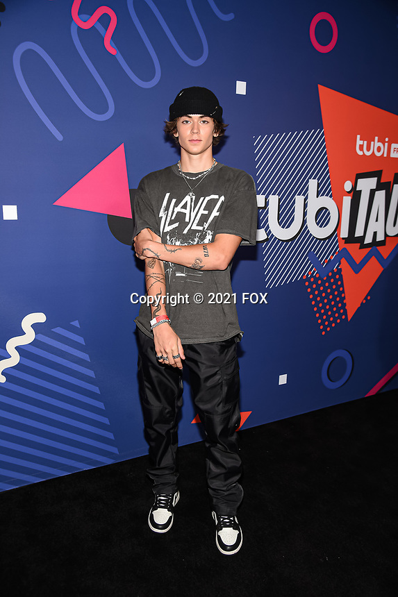 LOS ANGELES, CA - JUNE 30: Zack Lugo attends FOX's Tubi & TikTok - First Ever Live Long-Form Reunion Event at Sneakertopia at HHLA on June 30, 2021 in Los Angeles, California. (Photo by Frank Micelotta/FOX/PictureGroup)