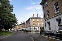 BNPS.co.uk (01202) 558833<br /> Pic: BNPS<br /> <br /> Pictured: The duo struck at Woodlands Crescent in Prince Charles's Poundbury in Dorset<br /> <br /> Police hunting two women dubbed the 'Rolex Rippers' have released CCTV images of the prime suspects.<br /> <br /> The duo are believed to have targeted at least 21 elderly men in affluent areas of southern England for their expensive Rolex watches.