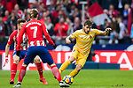 Cristian Portugues Manzanera of Girona FC in action during the La Liga 2017-18 match between Atletico de Madrid and Girona FC at Wanda Metropolitano on 20 January 2018 in Madrid, Spain. Photo by Diego Gonzalez / Power Sport Images