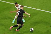 Timo Werner (Deutschland Germany) gegen Loic Nego (Ungarn, Hungary)<br /> - Muenchen 23.06.2021: Deutschland vs. Ungarn, Allianz Arena Muenchen, Euro2020, emonline, emspor, <br /> <br /> Foto: Marc Schueler/Sportpics.de<br /> Nur für journalistische Zwecke. Only for editorial use. (DFL/DFB REGULATIONS PROHIBIT ANY USE OF PHOTOGRAPHS as IMAGE SEQUENCES and/or QUASI-VIDEO)