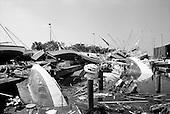 New Orleans, Louisiana.USA.September 28, 2005 ..Hurricane Katrina damage and recovery. The main port.