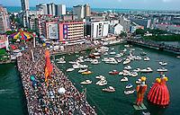 Bloco Galo da Madrugada no carnaval. Recife. Pernambuco. 2001. Foto de Catherine Krulik.