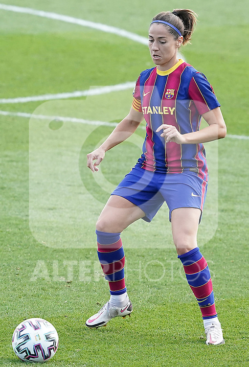 First official match and first classic in the history of women's Real Madrid.<br /> FC Barcelona's Victoria Losada during Spanish Female League match. October 4,2020. (ALTERPHOTOS/Acero)