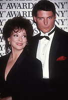 Dixie Carter Chris Reeve 1983<br /> Photo By Adam Scull/PHOTOlink.net