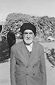 Iran 1961 <br /> Sheikh Abdullah Gilani Effendi, the   Sufi leader of Iranian Kurdistan<br /> Iran 1960 <br /> Sheikh Abdullah Gilani Effendi, le dirigeant soufi du Kurdistan iranien