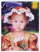 Zhang Yaxu (4), born in Jan 2004. Missing in Qian Qi Village of Deng Ming Si County of Dongguang on 29 Jul 2008.  Girls in China are increasingly targeted and stolen as there is a shortage of wives as the gender imbalance widens with 120 boys for every 100 girls..PHOTO BY SINOPIX