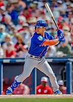 7 March 2019: New York Mets outfielder Michael Conforto in action during a Spring Training Game against the Washington Nationals at the Ballpark of the Palm Beaches in West Palm Beach, Florida. The Nationals defeated the visiting Mets 6-4 in Grapefruit League, pre-season play. Mandatory Credit: Ed Wolfstein Photo *** RAW (NEF) Image File Available ***