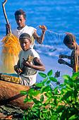 White sands, retour de pêche