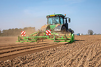 Potato planting - Lincolnshire, April