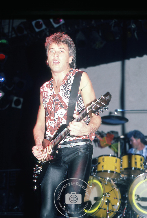 George Kooymans of Golden Earring Live at The Ritz New York 1984