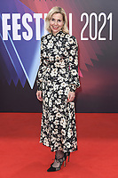 Sally Phillips bei der Premiere des Kinofilms 'The Lost Daughter' auf dem 65. BFI London Film Festival 2021 in der Royal Festival Hall. London, 13.10.2021 . Credit: Action Press/MediaPunch **FOR USA ONLY**