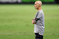 CARSON, CA - SEPTEMBER 06: Bob Bradley during a game between Los Angeles FC and Los Angeles Galaxy at Dignity Health Sports Park on September 06, 2020 in Carson, California.