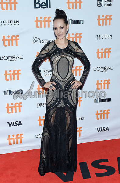 "10 September 2017 - Toronto, Ontario Canada - Ksenia Solo. 2017 Toronto International Film Festival - ""mother!"" Premiere held at TIFF Bell Lightbox. Photo Credit: Brent Perniac/AdMedia"