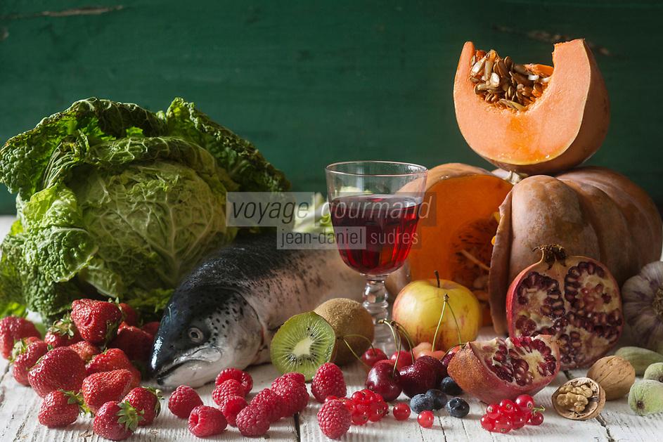 Gastronomie générale, Aliments et santé //   Food and Health