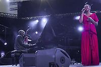 AHMAD JAMAL & MINA AGOSSI GUEST STAR - FESTIVAL JAZZ A VIENNE