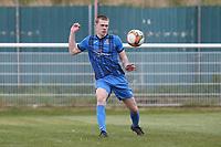 Bradley Bennett of Redbridge during Redbridge vs Clapton, Len Cordell Memorial Cup Football at Oakside Stadium on 10th April 2021