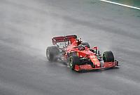9th October 2021; Formula 1 Turkish Grand Prix 2021 Qualifying sessions at the Istanbul Park Circuit, Istanbul;   CarlSainz Jr ESP 55 , Scuderia Ferrari Mission Winnow