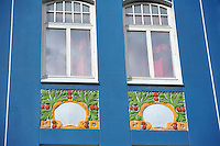 N - NORWAY - ALESUND<br /> Art Nouveau ornamentation on buildings in old town centre<br /> <br /> Full size: 65,5 MB