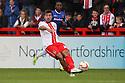 Michael Doughty of Stevenage (on loan from QPR)<br />  - Stevenage v Carlisle Untied - Sky Bet League 1 - Lamex Stadium, Stevenage - 21st September, 2013<br />  © Kevin Coleman 2013