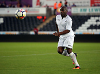 Adrian Forbes of Swansea in action during the Swansea Legends v Manchester United Legends at The Liberty Stadium, Swansea, Wales, UK. Wednesday 09 August 2017