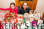 Simone Murphy and Aimee Rose Cazenove at the Kerry Christmas Market which was held at the Dingle Bay Hotel over the weekend.