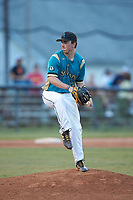 at Moor Park on July 31, 2020 in Mooresville, NC. The Spinners defeated the Athletics 6-3 in a game called after 6 innings due to rain. (Brian Westerholt/Four Seam Images)