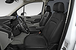 Front seat view of 2021 Ford Transit-Connect XL 4 Door Car Van Front Seat  car photos
