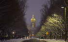 Feb. 5, 2013; ND Avenue..Photo by Matt Cashore/University of Notre Dame