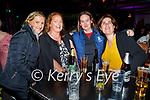 Enjoying the evening in Scotts Hotel in Killarney on Saturday, l to r: Trisha Fahey (Kilcummin), Mary Griffin, Debbie English (Killarney) and Bernie Crass.