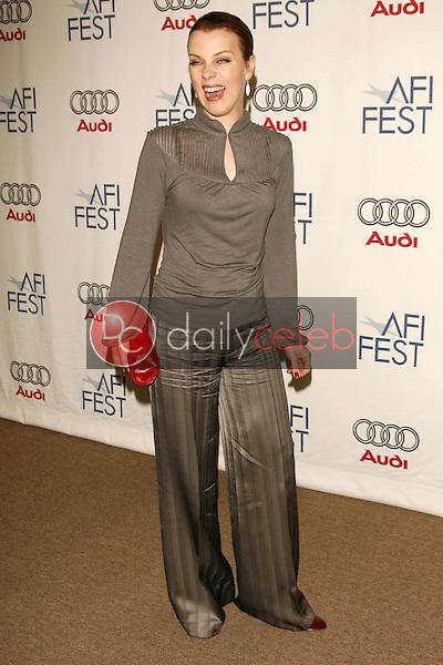 "Debi Mazar<br />at the AFI Fest 2006 Screening of ""Lies and Alibis"". Arclight Cinemas, Hollywood, CA. 11-10-06<br />Dave Edwards/DailyCeleb.com 818-249-4998"