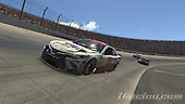 #19: Bobby Labonte, Joe Gibbs Racing, Toyota Camry, #96: Daniel Suarez, Gaunt Brothers Racing, Toyota Camry<br /> <br /> (MEDIA: EDITORIAL USE ONLY) (This image is from the iRacing computer game)