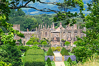 BNPS.co.uk (01202 558833)<br /> Pic: GrahamHunt/BNPS<br /> <br /> The ruins of Parnham House.<br /> <br /> A £15m stately home has gone back on the market for a cut-price £2.5m after it was burnt to the ground in a suspected arson attack.<br /> <br /> Grade I listed Parnham House, near Beaminster, Dorset, is now just a charred shell of the magnificent mansion it once was following the blaze in April 2017.<br /> <br /> Its owner, hedge fund manager Michael Treichl, was arrested on suspicion of arson only to later drown in an apparent suicide. <br /> <br /> A sale for £3m was agreed for the Elizabethan manor fell through earlier this year and it has now been listed for sale again.