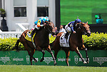 May 3, 2014: Coffee Clique with Javier Castellano up wins the Churchill Distaff Turf Mile at Churchill Downs in Louisville, KY. Zoe Metz/ESW/CSM