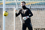 St Johnstone Training…18.11.16<br />Keeper Zander Clark pictured during training this morning at McDiarmid Park ahead of tomorrow's game against Ross County<br />Picture by Graeme Hart.<br />Copyright Perthshire Picture Agency<br />Tel: 01738 623350  Mobile: 07990 594431