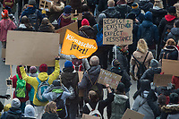 """Tausende Schuelerinnen und Schueler streikten am Freitag den 25. Januar 2019 in Berlin unter dem Motto #FridaysForFuture fuer einen Ausstieg aus der Kohlepolitik. """"Heute verhandelt die Kohlekomission über den Kohleausstieg, und damit ueber unsere Zukunft. Die Menschen, die heute diese Entscheidungen treffen, werden die langfristigen Folgen ihrer Entscheidungen nicht mehr erleben.""""<br /> 25.1.2019, Berlin<br /> Copyright: Christian-Ditsch.de<br /> [Inhaltsveraendernde Manipulation des Fotos nur nach ausdruecklicher Genehmigung des Fotografen. Vereinbarungen ueber Abtretung von Persoenlichkeitsrechten/Model Release der abgebildeten Person/Personen liegen nicht vor. NO MODEL RELEASE! Nur fuer Redaktionelle Zwecke. Don't publish without copyright Christian-Ditsch.de, Veroeffentlichung nur mit Fotografennennung, sowie gegen Honorar, MwSt. und Beleg. Konto: I N G - D i B a, IBAN DE58500105175400192269, BIC INGDDEFFXXX, Kontakt: post@christian-ditsch.de<br /> Bei der Bearbeitung der Dateiinformationen darf die Urheberkennzeichnung in den EXIF- und  IPTC-Daten nicht entfernt werden, diese sind in digitalen Medien nach §95c UrhG rechtlich geschuetzt. Der Urhebervermerk wird gemaess §13 UrhG verlangt.]"""
