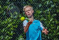 Hilversum, Netherlands, August 7, 2017, National Junior Championships, NJK, Bram Poel<br /> Photo: Tennisimages/Henk Koster
